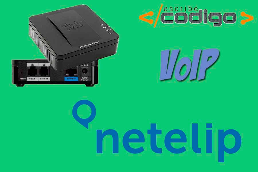 Configurar Netelip en Cisco SPA112